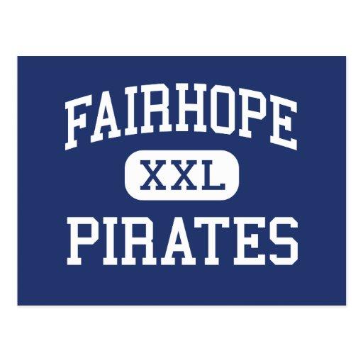 Fairhope - piratas - alto - Fairhope Alabama Postales