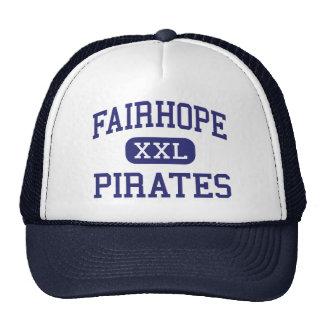 Fairhope - Pirates - High - Fairhope Alabama Trucker Hat