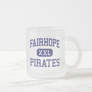 Fairhope - Pirates - High - Fairhope Alabama 10 Oz Frosted Glass Coffee Mug