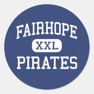 Fairhope - Pirates - High - Fairhope Alabama Classic Round Sticker