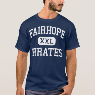 Fairhope Pirates Middle Fairhope Alabama T-Shirt