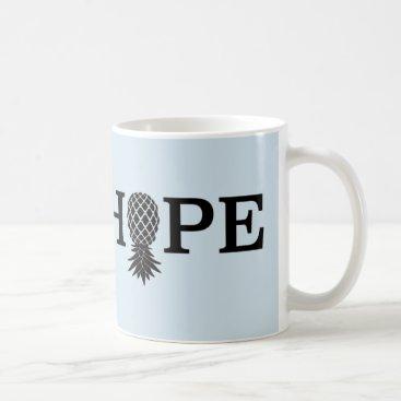 Coffee Themed Fairhope - Upside down Pineapple Coffee Mug
