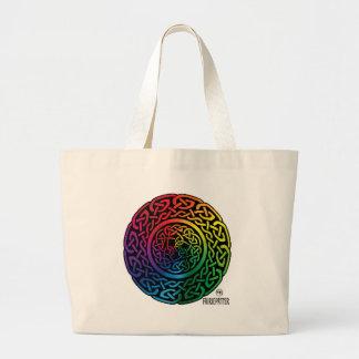 Fairie Patter - Rainbow Celtic Knotwork Bag