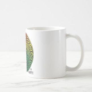 Fairie Patter - Rainbow Celtic Knotwork Coffee Mugs