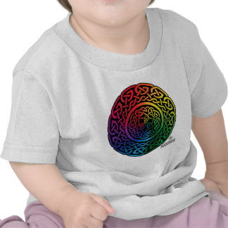 Fairie Patter - Rainbow Celtic Knotwork Tee Shirts