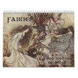 Fairies 2011 Wall Calendar