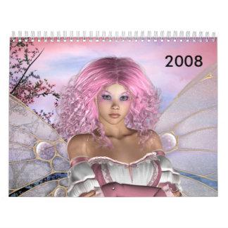 fairies and angels 2008 calendar