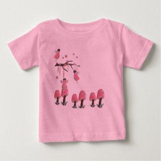 Fairies and Mushrooms Baby Tee