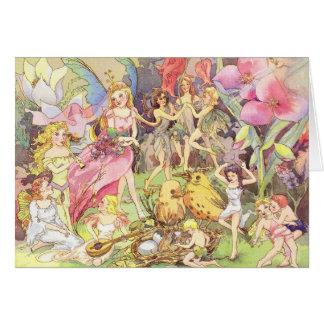 Fairies and Sprites Card