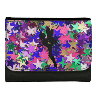 Fairies and Stars Leather Wallet For Women