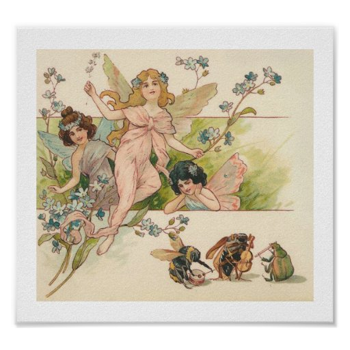 Fairies and the Band Poster