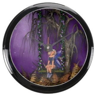 Fairies Aquavista Clocks