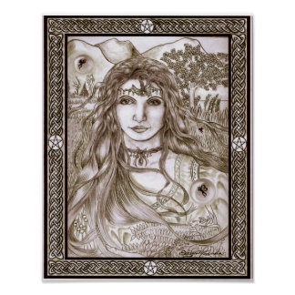 Fairies are Real Goddess Mother Earth Poster