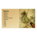 Fairies Away - Arthur Rackham Business Cards
