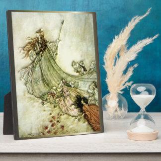 Fairies Away - Arthur Rackham Plaque