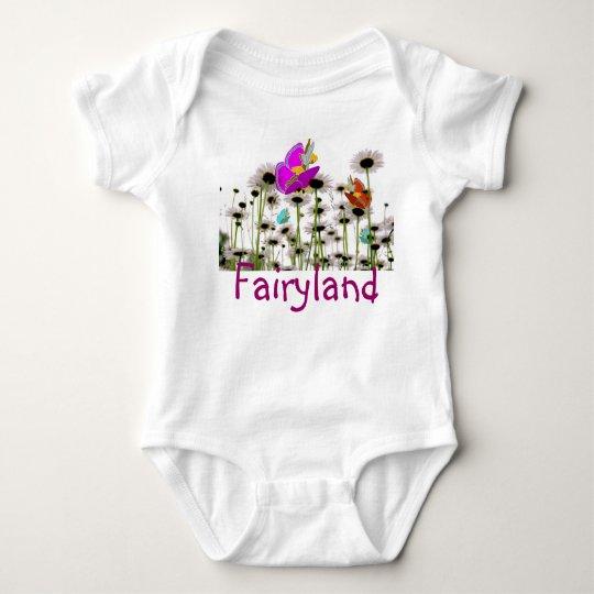 Fairies butterflies child tshirt