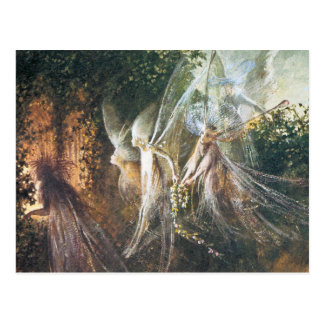 Fairies - by John Anster Fitzgerald Post Card