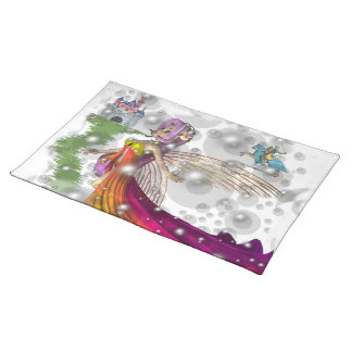 Fairies,Castles,Knights American MoJo Placemat
