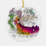 Fairies,Castles,Knights Christmas Tree Ornament