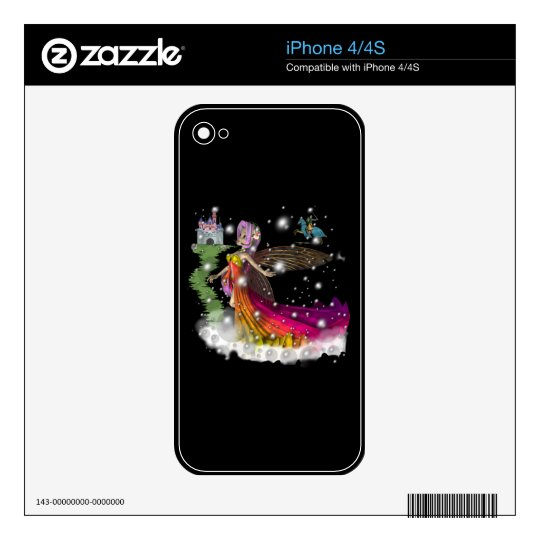 Fairies,Castles,Knights Decals For The iPhone 4S
