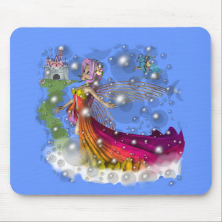 Fairies,Castles,Knights Mouse Pad