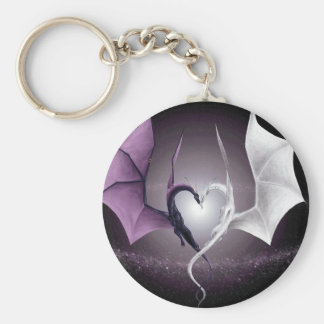 Fairies, Dragons and Moons Keychain