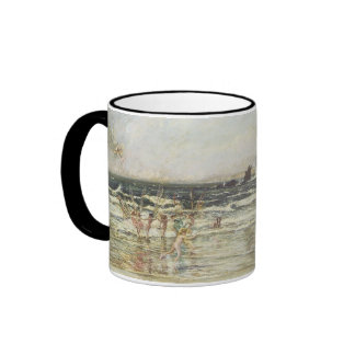 Fairies Frolicing in the Sea Ringer Mug