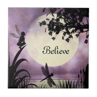 Fairies I Believe Tile