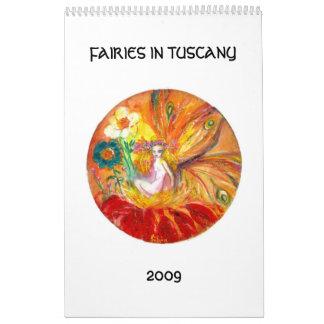 FAIRIES IN TUSCANY  2017 CALENDAR