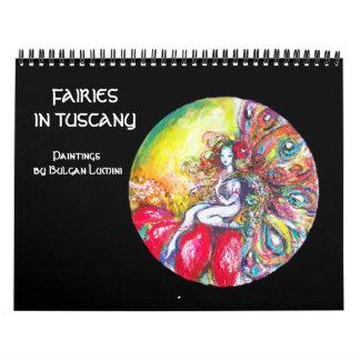 FAIRIES IN TUSCANY  2017 Fantasy Fine Art Calendar