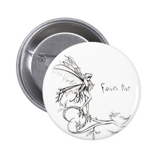 Fairies Live: Ice Age Pinback Button
