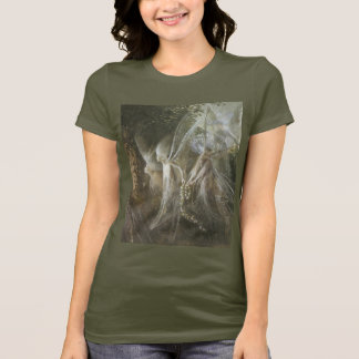 Fairies Looking Through A Gothic Arch,1864 T-Shirt