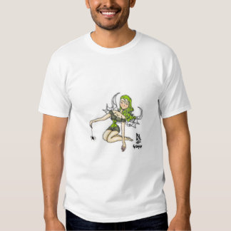 fairies love spiders tee shirt