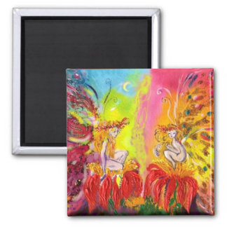FAIRIES OF DAWN 2 INCH SQUARE MAGNET