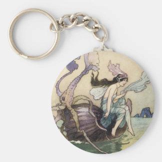 Fairies on the Seashore Keychain