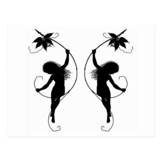 Fairies on Vine Postcards