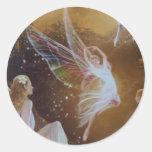 Fairies part1 round stickers