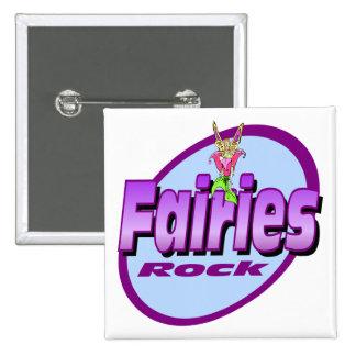 Fairies Rock Button