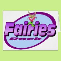 Fairies Rock Card