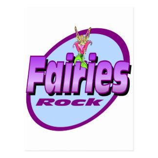 Fairies Rock Postcard