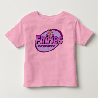 Fairies Rock Toddler T-shirt