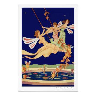 """Fairies Swing"" Photo Print"