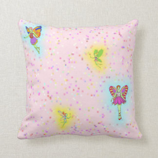 Fairies Throw Pillow