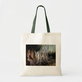 Fairies Watching At Forest Edge Tote Bags