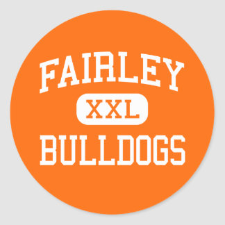 Fairley - Bulldogs - High - Memphis Tennessee Sticker