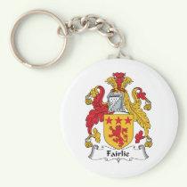 Fairlie Family Crest Keychain