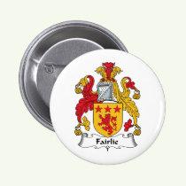 Fairlie Family Crest Button