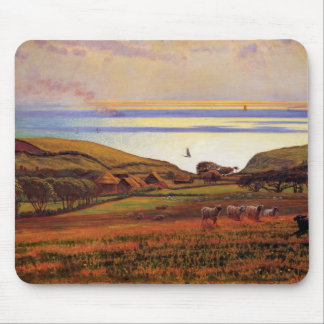 Fairlight Downs, Sunlight On The Sea Mouse Pad