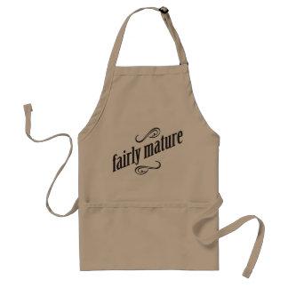 fairly mature adult apron