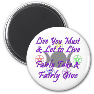 Fairly Take & Fairly Give Magnet
